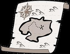 目標への地図
